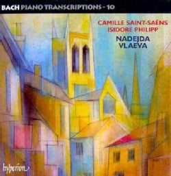 Nadejda Vlaeva - Bach: Piano Transcriptions Vol. 10