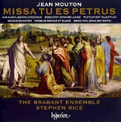 Stephen Rice - Mouton: Missa Tu Es Petrus & Other Works