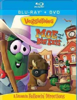 Veggie Tales: Moe and the Big Exit (Blu-ray/DVD)