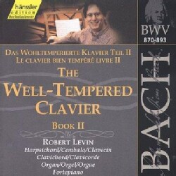 Robert Levin - Bach:Well Tempered Clavier Book 2