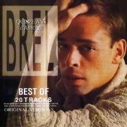 Jacrock Brel - Quinze Ans D'Amour- The Best Of Jacrock Brel