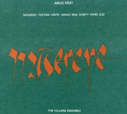 Hilliard Ensemble - Part:Miserere