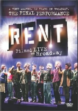 Rent: Filmed Live on Broadway (DVD)