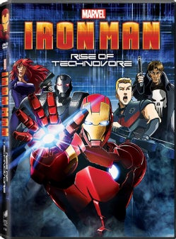 Iron Man: Rise of The Technovore (DVD)