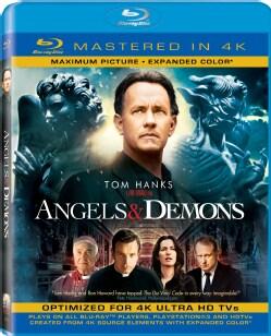 Angels & Demons (4K-Mastered) (Blu-ray Disc)