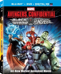 Avengers Confidential: Black Widow & Punisher (Blu-ray Disc)
