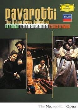 The Italian Opera Collection: Il Tabarro; Pagliacci; L'elisier D'amore (DVD)