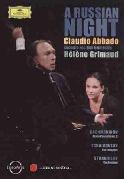 A Russian Night (Rachmaninov, Stravinsky, Tchaickovsky) (DVD)