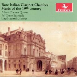 CAVALLINI/CARULLI/KLOSE/PAN - RARE ITALIAN CLARINET CHAMBER