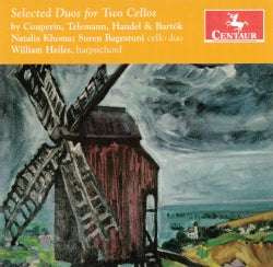 Natalia Khoma - Selected Duos for Two Cellos