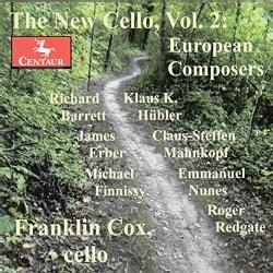 Franklin Cox - The New Cello: European Composers: Vol. 2