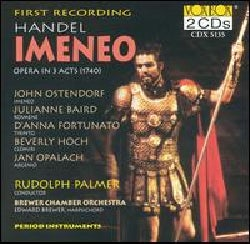 Palmer/Brewer - Handel:Imeneo