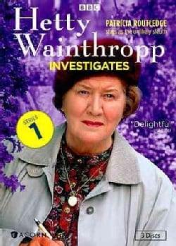 Hetty Wainthropp Investigates: Series 1 (DVD)