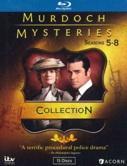 Murdoch Mysteries: Collection 5-8 (Blu-ray Disc)