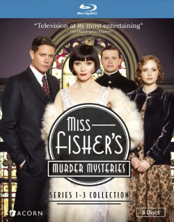 Miss Fisher's Murder Mysteries: 1-3 Collection (Blu-ray Disc)