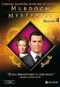 Murdoch Mysteries Season 4 (DVD)