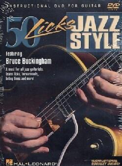 50 Licks Jazz Style (DVD)