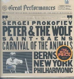 Bernstein/New York Philharmonic Orchestra - Prokofiev:Peter & the Wolf