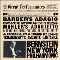 Bernstein/New York Philharmonic Orchestra - Barber/Vaughan Williams/Mahler