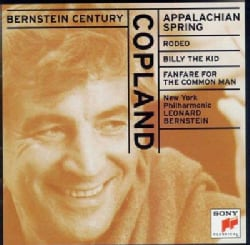 New York Philharmonic Orchestra - Copland: Appalachian Spring; Rodeo; Billy the Kid; Fanfare for the Common Man