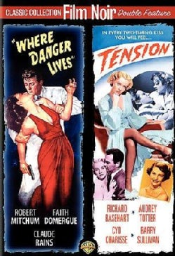 Where Danger Lives/Tension (DVD)