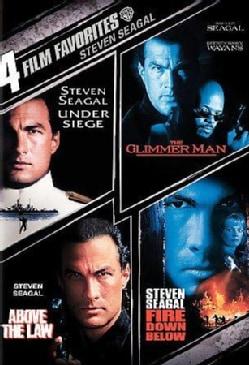 4 Film Favorites: Steven Seagal (DVD)