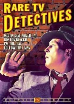 Rare TV Detectives: Martin Kane/Boston Blackie/I'm The Law/Follow That Man (DVD)