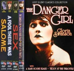 Vamps of The Silent Era: The Danger Girl/A Hash House Fraud/Teddy At The Throttle/A Fool There Was/Sex/Salome (DVD)