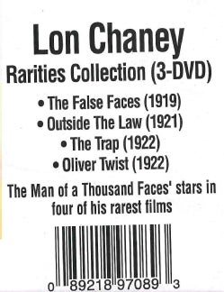 Lon Chaney Rarities Collection (DVD)