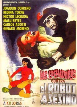 Las Luchadoras Contra El Robot Asesino (DVD)