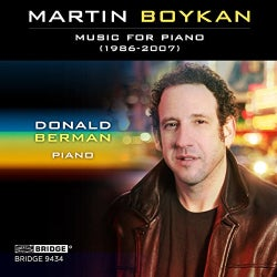 Donald Berman - Boykan: Music for Piano: 1986-2007