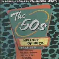 Various - History of Rock: 50's Vol. 2