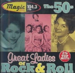Various - Great Ladies of Rock & Roll the 50's