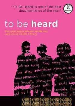 To Be Heard (DVD)