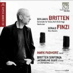 Jacqueline Shave - Britten: Serenade for Tenor, Horn and Strings; Nocturne