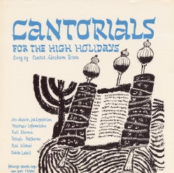 Abraham Burn - Cantorials for the High Holidays: Roshashona and Yom Kippur