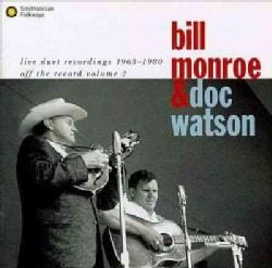 Bill Monroe/D Watson - Live Duet Recordings