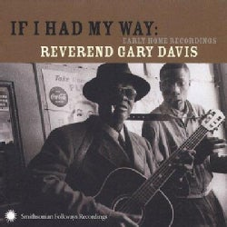 Gary Davis - If i Had My Way Early Home Recordings
