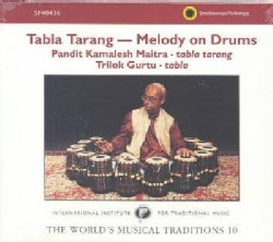 Pandit Maitra - Gurtu Tabla Tarang Melody on Drums