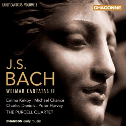 Purcell Quartet - Bach: Vol 3: Early Cantatas: Weimar Cantatas