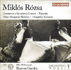 BBC Philharmonic Orchestra - Rozsa: Vol 1 Orchestral Works