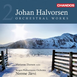 Johan Halvorsen - Halvorsen: Orchestral Works Vol 2 Suite Ancienne, Norwegian Dances, Symphony No 2 Fatum