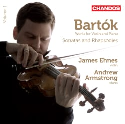 Andres Armstrong - Bartok: Works for Violin and Piano, Vol. 1