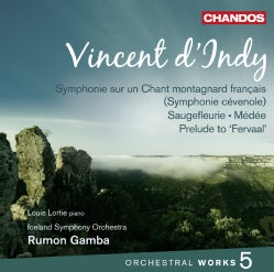 Iceland Symphony Orchestra - D'Indy: Orchestral Works: Vol. 5