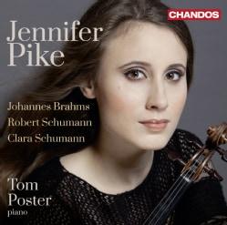 Jennifer Pike - Brahms/Schumann/Schumann: Violin Sonatas