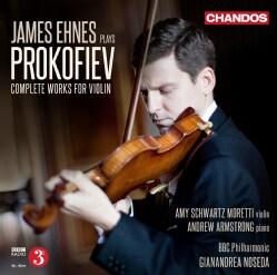 James Ehnes - James Ehnes Plays Prokofiev: Complete Works for Violin