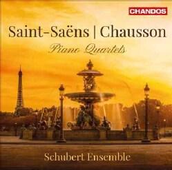 Schubert Ensemble - Chausson/Saint-Saens: Piano Quartets