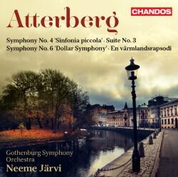 Kurt Atterberg - Atterberg: Symphony No. 4 'Sinfonia Piccola'; Suite No. 3 Symphony No. 6 'Dollar Symphony' En Varmlandsrapsodi