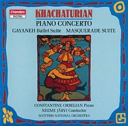 Orbelian/Jarvi/Sno - Khachaturian:Piano Concerto