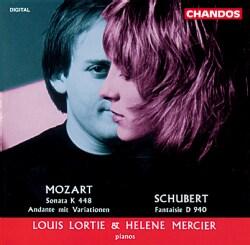 L Lortie/H Mercier - Mozart:Sonata in D for 2 Pianos